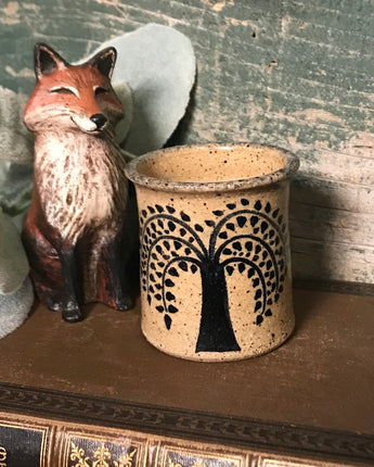 CC-2000 Mini Pottery Crock with Willow