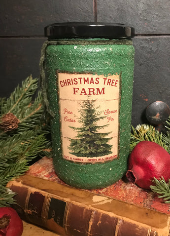 HSC-JC-PF Pine Forest Soy Jar Candle