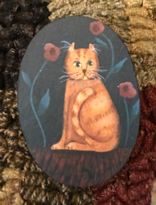 SN-PIN18 Tabby Cat Pin