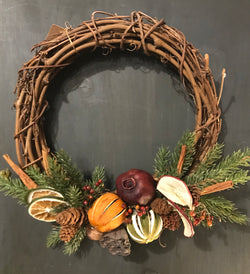 CD-FGW Dried Fruit Wreath