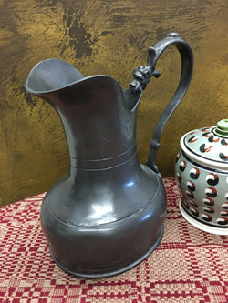 OWP-09 Old World Pewter Ornate Pitcher