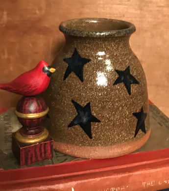 CC-2015 Pottery Stars Canning Crock