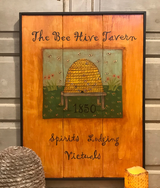 KH-1975 The Bee Hive Tavern Sign
