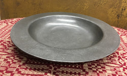 OWP-05 Old World Pewter Bowl with Rim