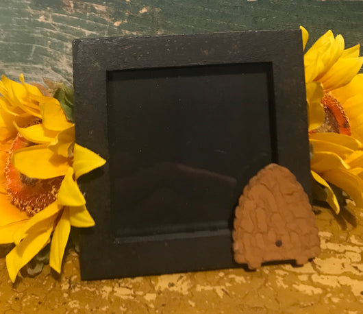 ER-PF8 Hand-made Black Picture Frame with Beeskep