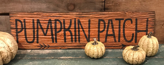 KEY-PP Pumpkin Patch Sign