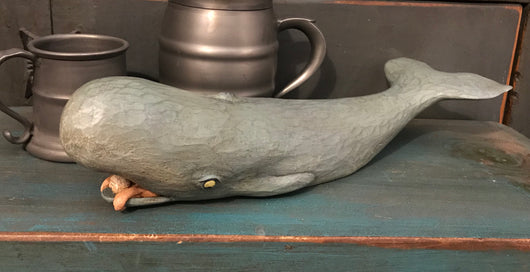 WW-WH-G Resin Grey Whale