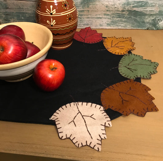 RG-F1 Autumn Leaves Table Runner