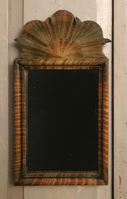 DMC-19 Small Grained Wood Mirror