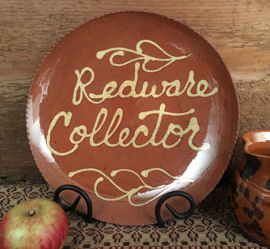 DTS-1803 Redware Collector Redware Plate