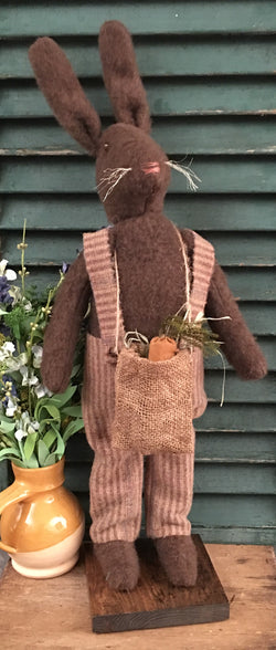 EC-BB Standing Boy Bunny with Sack