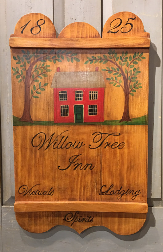 KH-02 Willow Tree Inn Tavern Sign