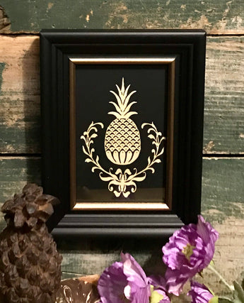 MB-FPS Pineapple Framed Scherenschnitte