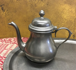 OWP-11 Old World Pewter Tea Pot