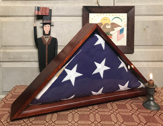 RH-2004 Cherry Flag Memorial Case