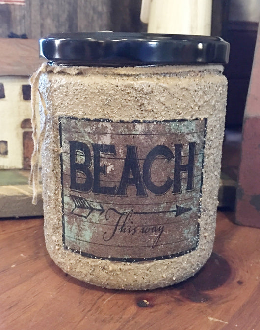 HSC-B Jar Soy Candle - Beach