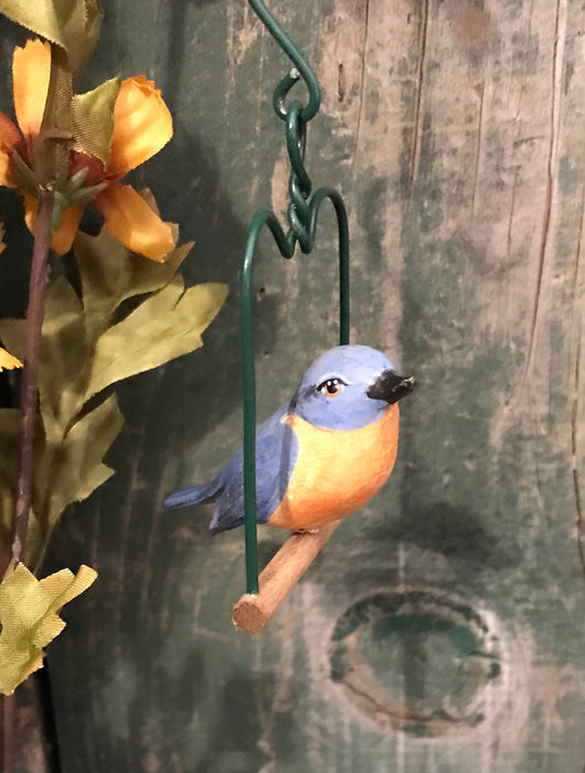 WW-94 Mini Hanging Resin Bluebird
