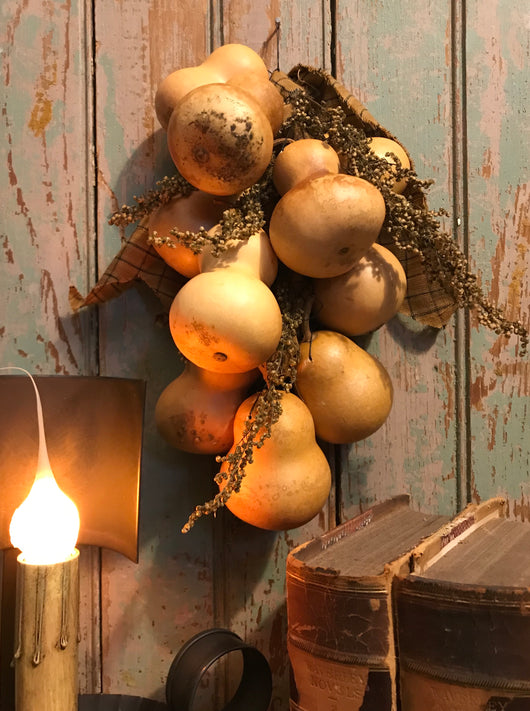 CD-H2 Large Hangdown Gourd Garland