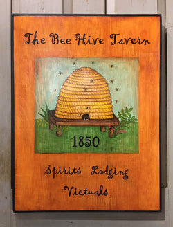 KH-04 The Bee Hive Tavern Sign