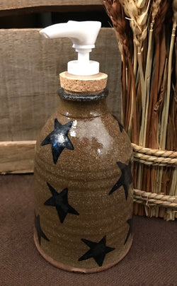 CC-SSP Pottery Star Soap Pump Dispenser