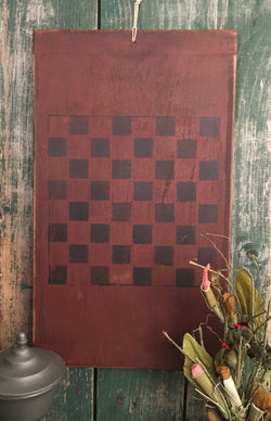 MTP-CB-R Red Wooden Checkerboard