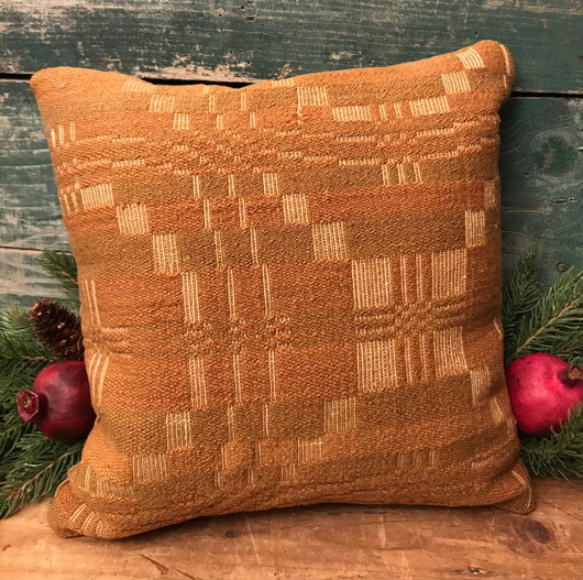 NV-MCP Mustard Coverlet Pillow