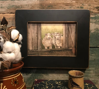 RL-SP Sheep Framed Print