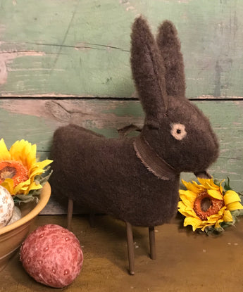 PO-2019 Brown Bunny with Stick Legs