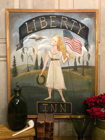 SDL-2008 Original Americana Liberty Inn Tavern Sign