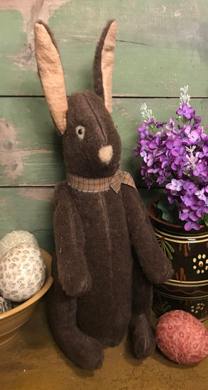 PO-2017 Brown Sitting Bunny