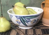 SE-80 Medium Pottery Bowl with Delft Design