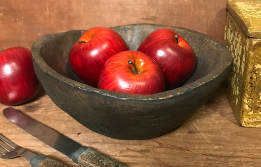 CT-314 Resin Treenware Primitive Bowl
