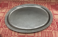 OWP-12 Old World Pewter Oval Platter