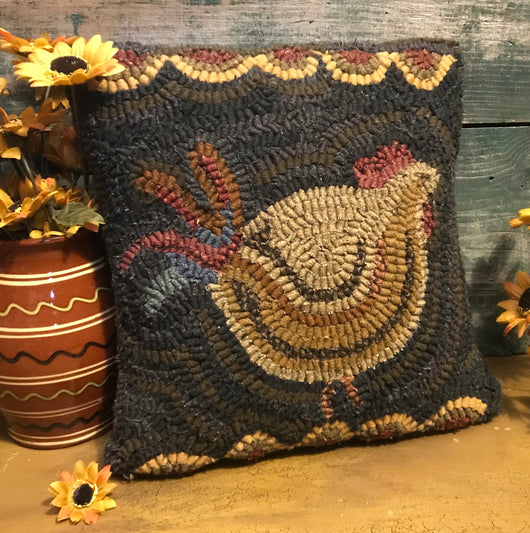 HD-1936 Chicken Hooked Pillow