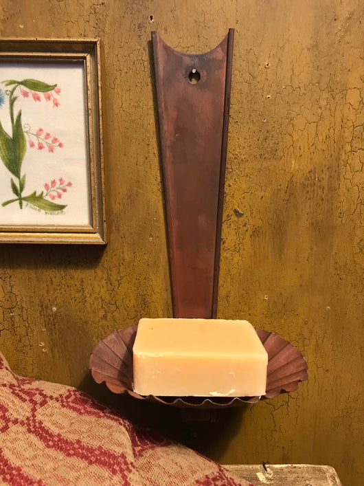 TP-TSD-R Hanging Red Tin Soap Dish