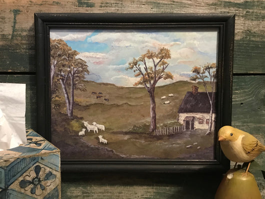 MKM-1904Lg English Cottage Framed Print