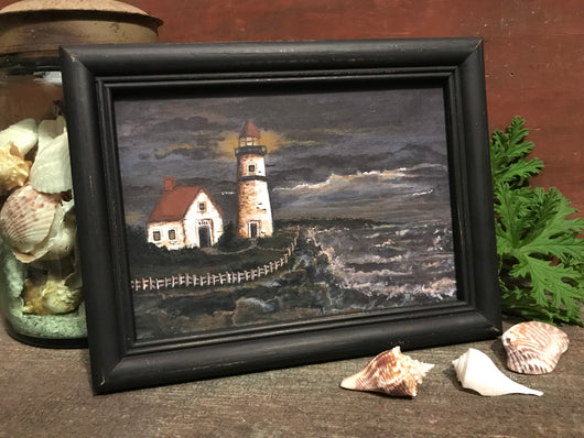 MKM-1903Sm Cornwall Light Framed Print