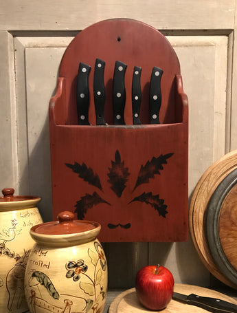 WD-1930 Wooden Knife Box Holder