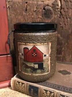 HSC-JC Fragrant Molasses Soy Jar Candle