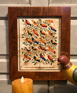 SD-08 Bird Tree Framed Limited Edition Print
