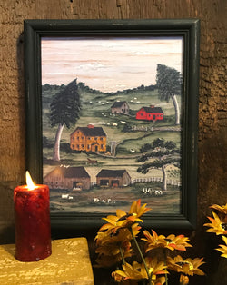 MKM-JS-L John Sedgley Homestead Framed Print