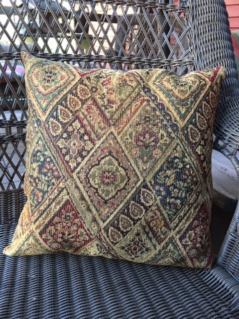 NV-PIL-1 Gold Chenille Pillow