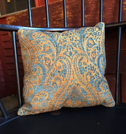 NV-PIL-6 Blue & Gold Pillow