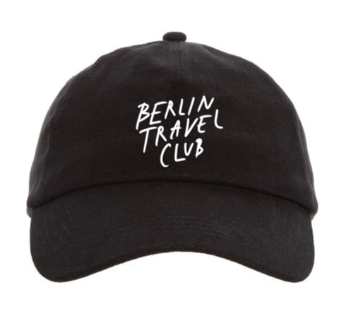 "Cap ""Berlin Palms"" – black"