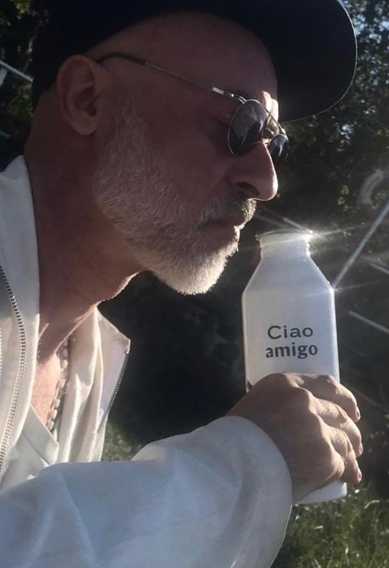 "Mizu x Berlin Travel Festival Bottle ""Ciao Amigo"" – 2 Colors"