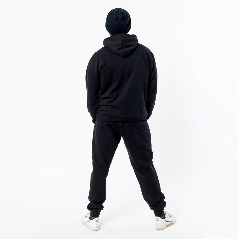 "> Jog Pants ""Berlin Travel Club"" - black"