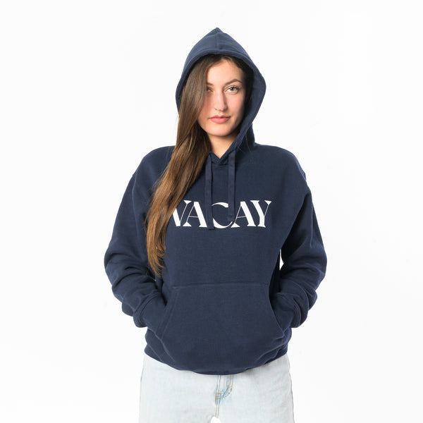 "> Hoodie ""VACAY"" - french navy"