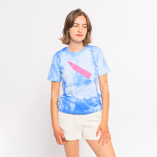 "T-Shirt ""Clouds"" - sky blue"
