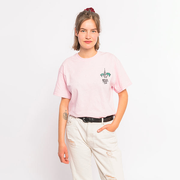 "> T-Shirt ""Berlin Palms"" - canyon pink"