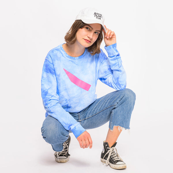 "> Sweater ""Clouds"" - sky blue"